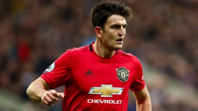 Man Utd's Maguire offers food packages to elderly