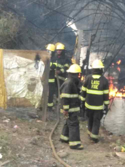 Fire Service rescues one from fire disaster, while 2 others injured in Lagos