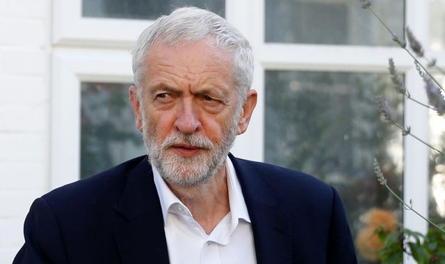 Jeremy Corbyn: Britain's main opposition leader