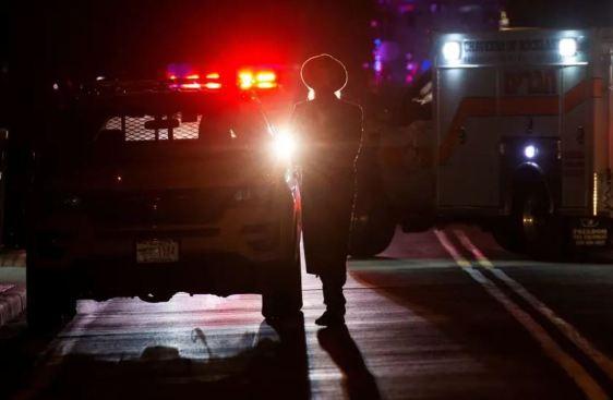 Jews stab New York: A Jewish man walks near the Monsey antisemitic attack, New York, December 2019. PHOTO: Reuters