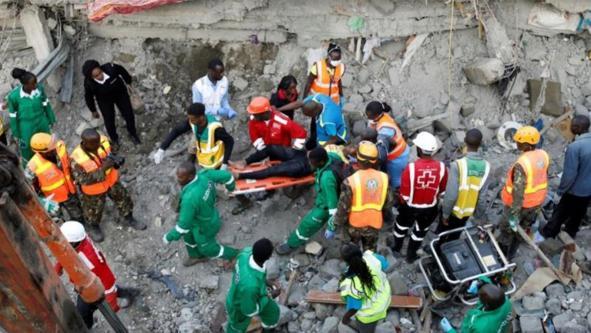 Kenya 6-storey building collapse kills two