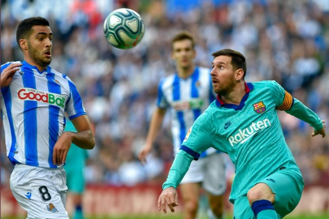 Barcelona stumble to 2-2 draw at Real Sociedad