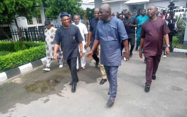 'Please, don't handcuff me. I will follow you' — Kalu pleads with prison warders