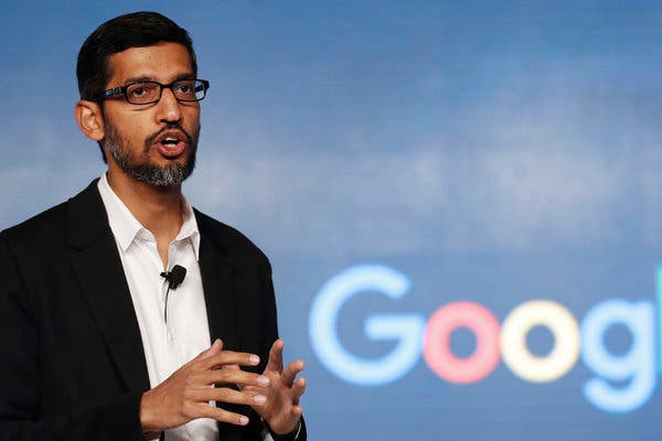 Google boss Pichai advocates for artificial intelligence regulation