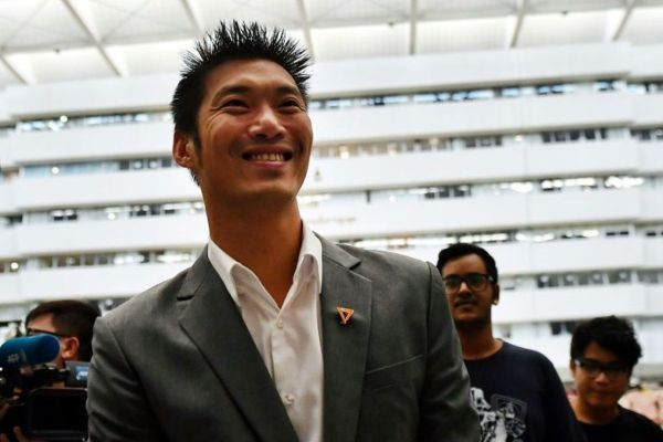 Last month the Thailand Constitutional Court stripped Future Forward's leader Thanathorn Juangroongruangkit of his MP status. PHOTO: AFP