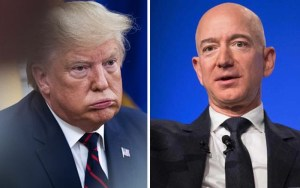 Trump, Bezos, Amazon
