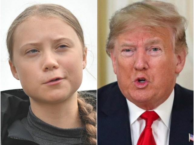 Trump, Greta Thunberg