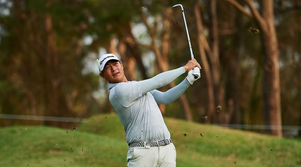 China's Yuan charges to Australian PGA lead