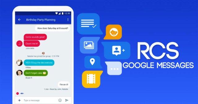 RCS, Android, Google
