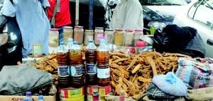 Herbal medicine, Nigerians, organs