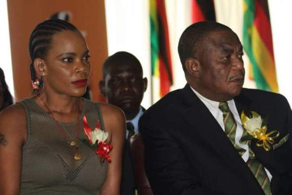 Zimbabwe VP's wife arrested over fraud allegations