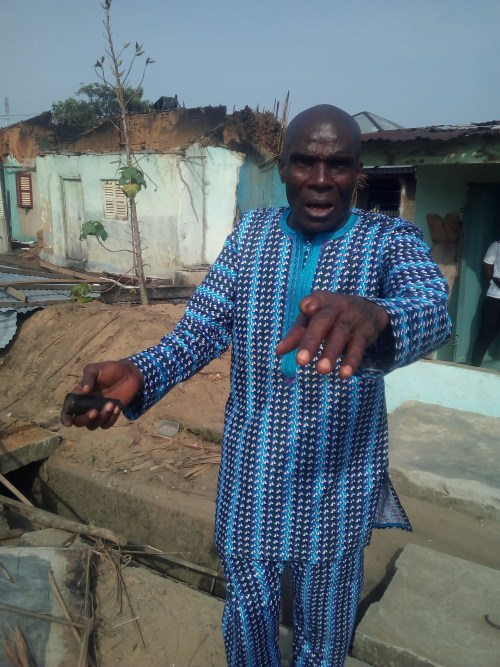 Police teargas canister sets house ablaze in Calabar