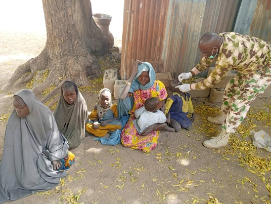 Troops foil Boko Haram attempt to bomb & kill hundreds of IDPs in Borno
