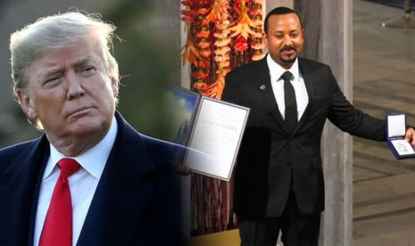 United States President, Donald Trump and Ethiopia Prime Minister, Abiy Ahmed