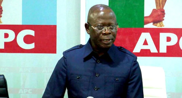 APC Crisis: Buhari's Ministers, Appointees, leaders from South South dump Oshiomhole