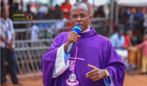 Fr. Mbaka denies alleged Bayelsa governorship prophesy