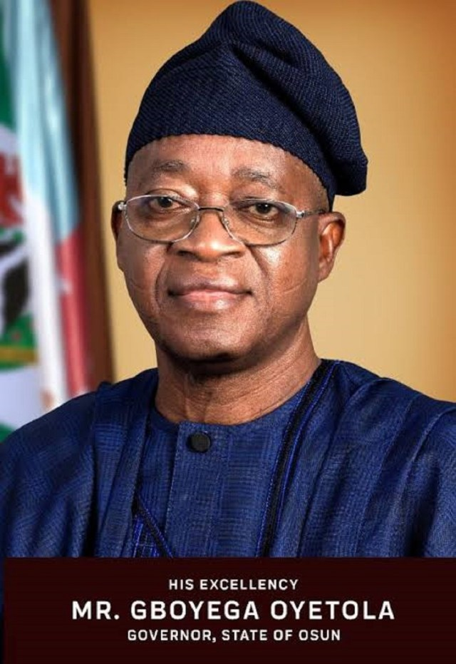 Uzodinma's victory, new year gift for APC, Buhari – Oyetola