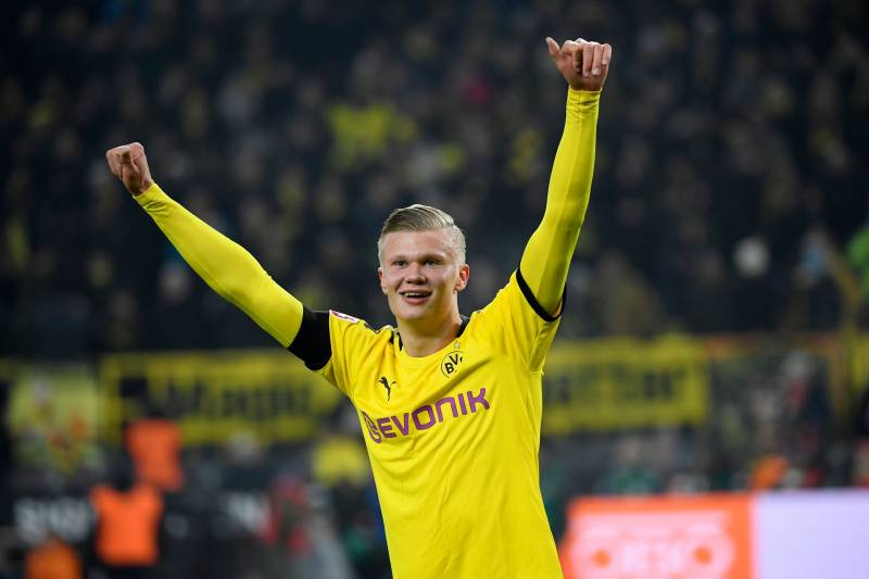 Erling Haaland and Jadon Sancho make Bundesliga history