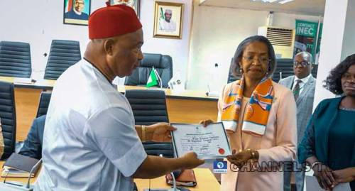 Pro-Buhari group celebrates Uzodinma's Supreme Court victory in Enugu