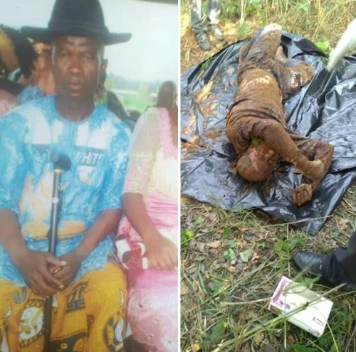 Two men allegedly kill motorcycle rider and bury his body in shallow grave in Delta (photos)