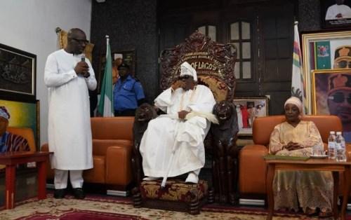 Oba of Lagos calls for peaceful resolution of Edo political impasse