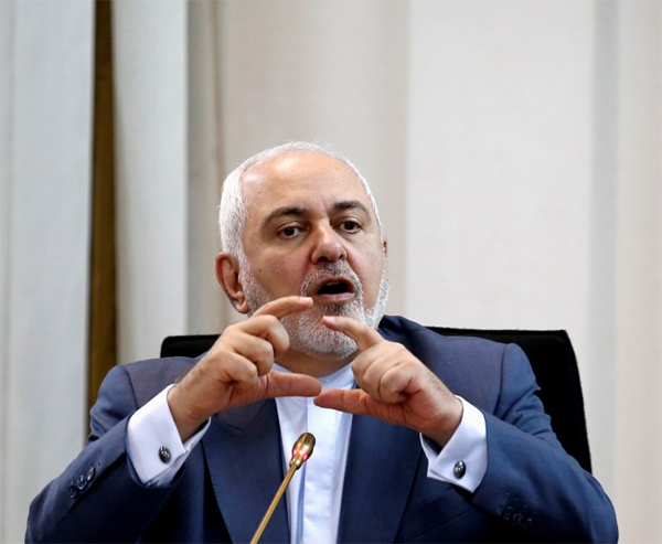Zarif says US failure to issue visa shows Washington's 'bankruptcy'