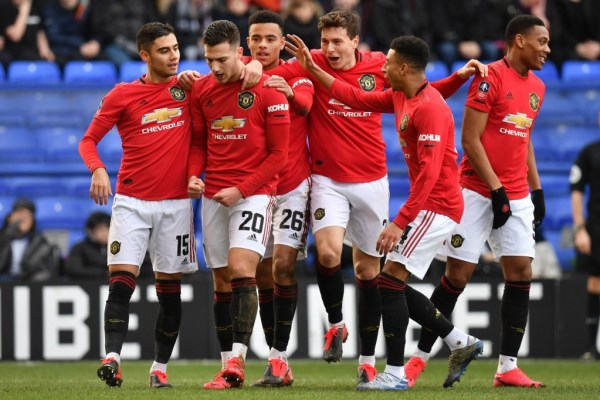 FA Cup: Man Utd, Man City cruise into fifth round