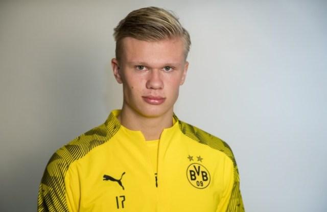 Erling Braut Haaland, Borrusia Dortmund, Man United