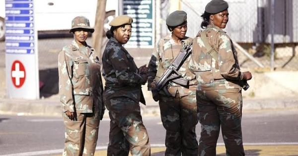 South African army, Major Fatima Isaacs