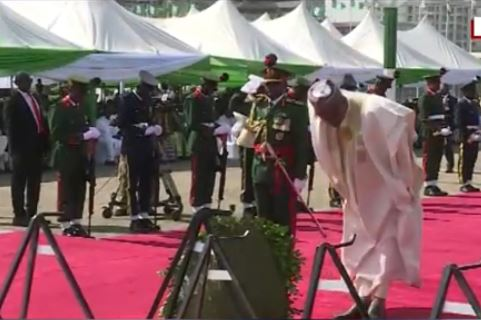 Armed Forces Remembrance Day: Troops write PMB emotional letter