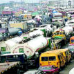 Apapa Gridlock: Truck drivers, commuters beg for Sanwo-Olu's intervention