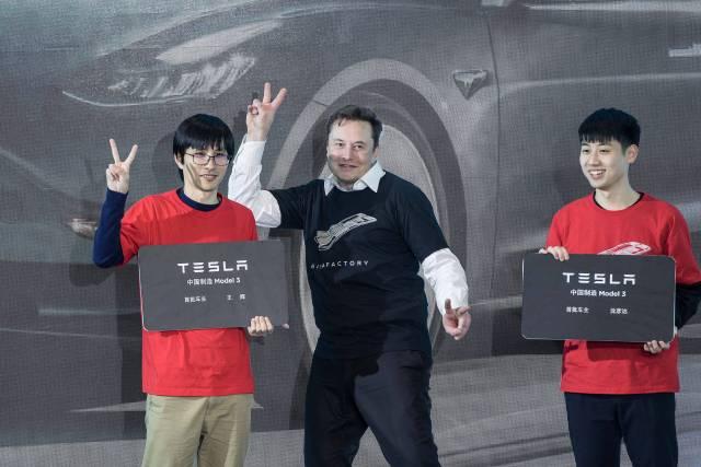 Tesla, Elon Musk