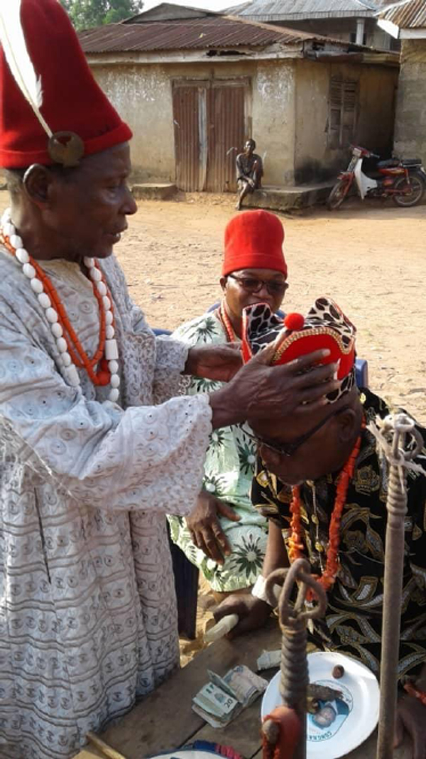 Anambra community selects, crowns new monarch