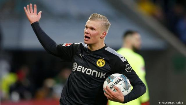 Erling Braut Haaland, Lucien Favre, Borussia Dortmund