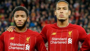 Joe Gomez, Virgil Van Dijk, Liverpool