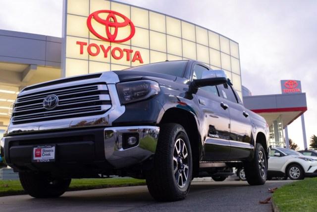 Toyota, Fuel pump