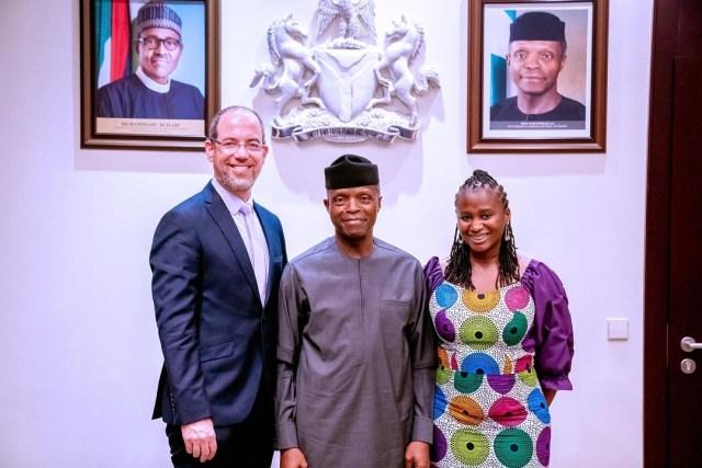 we're able to impact Nigerian communities because of Osinbajo — Google