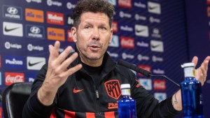 Four-way title race good for La Liga ― Atletico boss, Simeone