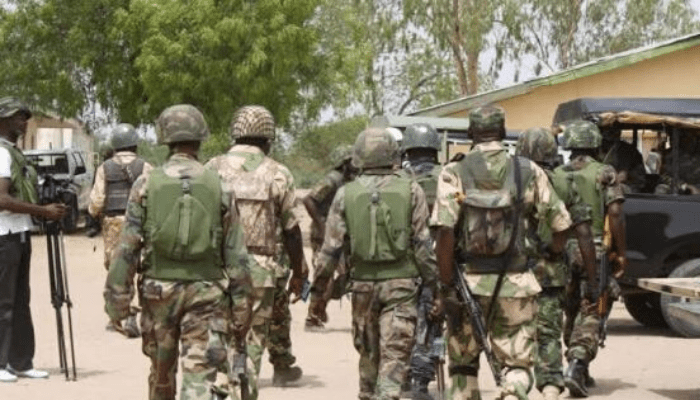 Troops dislodge oil thieves in Ubeji, destroy their equipment