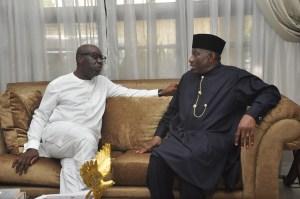 Former President Jonathan lauds Obaseki's devt strides