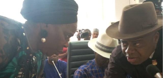 BREAKING: Diri, his deputy get INEC certificate of return