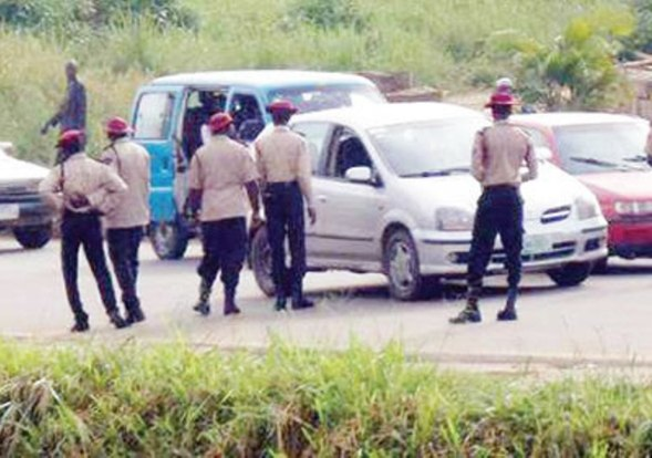 FRSC impounds vehicle loaded with allegedly stolen goats in Oyo