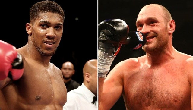 Tyson Fury's promoter wants him to face Anthony Joshua