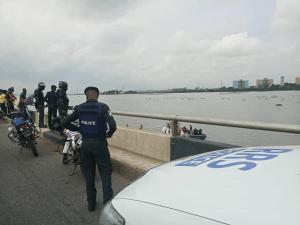 Middle-aged man saved from plunging into Lagos lagoon