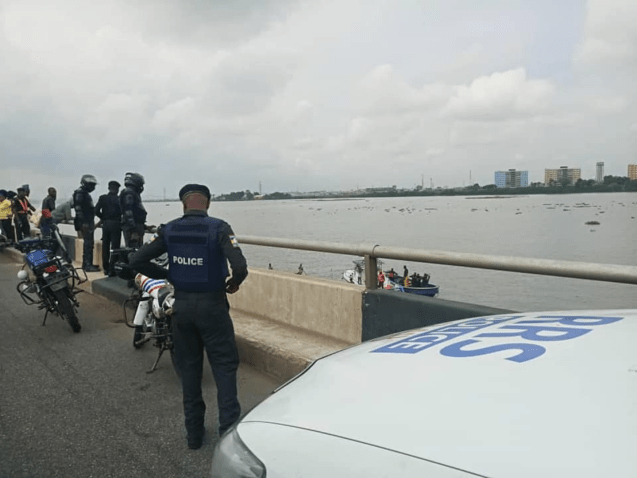 Lagoon of death where Military personnel, doctor, others perished