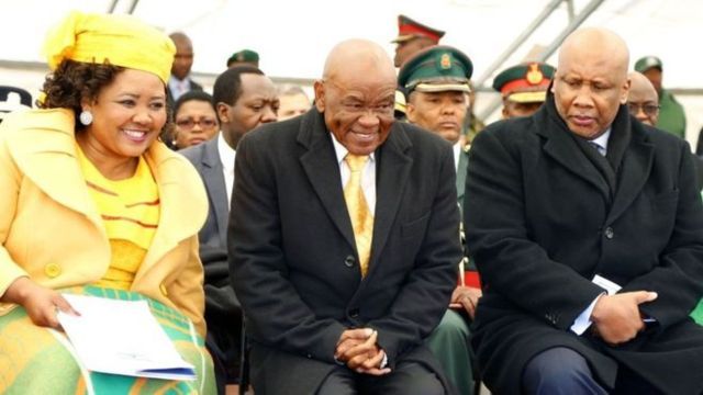 Embattled Lesotho PM bows to pressure to resign, named as suspect in murder case,