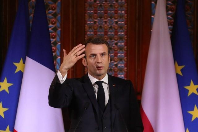 Macron, Mali