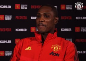 Odion Ighalo, Man United