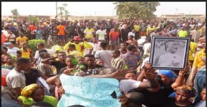 One fear dead as protest rocks Sagamu over killing of Remo Stars player