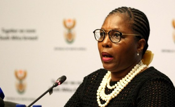 South African state security minister's phone 'cloned'